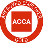 ACCA Approved Employer logo _Gold_